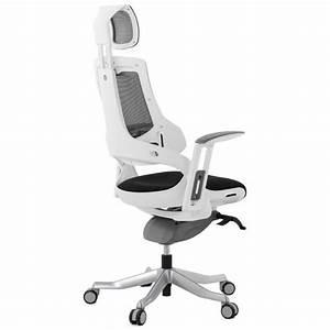 Fauteuil De Bureau Design : fauteuil de bureau design ergonomique bahamas en tissu noir ~ Teatrodelosmanantiales.com Idées de Décoration