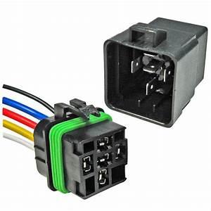Pico Wiring 5593pt Waterproof Mini Relay 5 Pin Spdt Resistor  U0026 Bracket 30