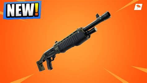 fortnite update legendary pump shotgun  map