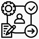 Icon Pdca Process Action Plan Leadership Check
