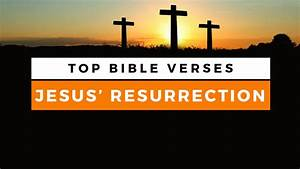 Top Bible Verses About the Resurrection of Jesus ...