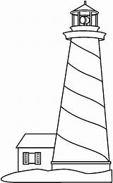 Lighthouse Clipart Outline Clip Coloring Drawing Pages Lighthouses Painting Pattern Sketch Stained Glass Patterns Building Colouring Easy Crafts Sketchite Arts sketch template