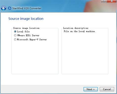 vmdk converter iso machine vmware formats virtual convert supports multiple