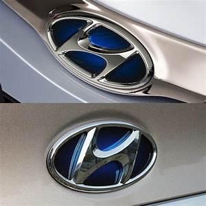 Oem Parts Trunk Emblem   Grille Emblem Badge 2p For Hyundai 11
