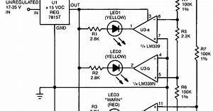 Power Supply Balance Indicator Wiring Diagram Schematic