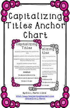 capitalizing titles anchor chart  erin  martin tpt