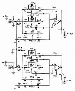 3 bass mid treble tone control circuits projects using With band board schematic diagram ept004410z