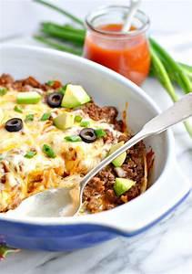 Healthy 4-Ingredient Enchilada Casserole - RecipeChatter  Healthy