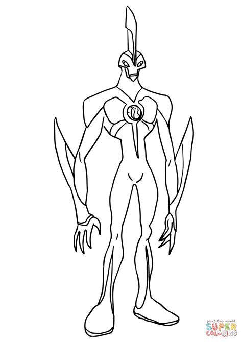 Ben 10 Excelerate Coloring Sheets Coloring Pages