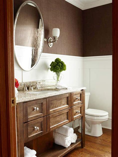 chocolate brown bathroom ideas brown bathroom wallpaper 2017 grasscloth wallpaper