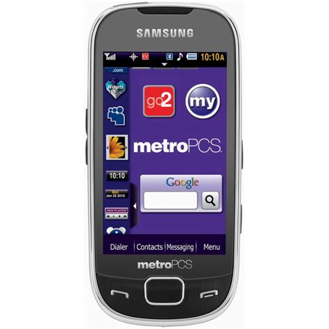 metro pcs samsung phones samsung caliber r860 touchscreen phone launched by