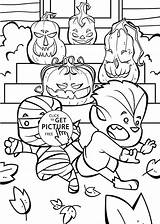 Coloring Halloween Pages Printable Cute Funny Jack Happy Toddlers Lanterns Sheets Colouring Farfaria Pumpkin Printables Print Lantern Fall Unlimited Sheet sketch template