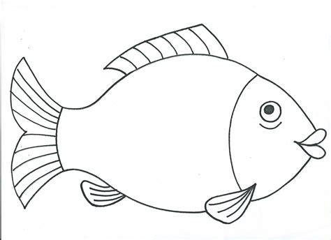 gambar ikan untuk mewarnai tk