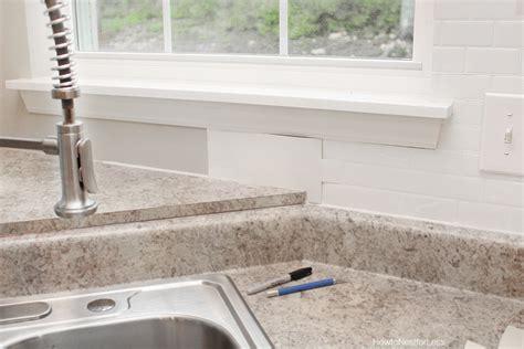 self adhesive backsplash tiles self adhesive kitchen backsplash how to nest for less