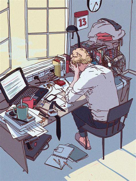 desk for digital artist wrc illustration design blog annaxiin artandcetera