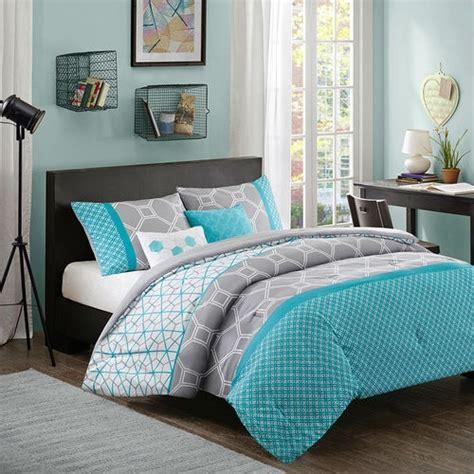 grey and blue comforter sets blue and grey comforter sets xl size aqua geometric