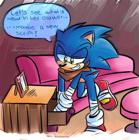 Boom Sonamy Comic Tumblr Omg Xddddd Sonic Boom Hype