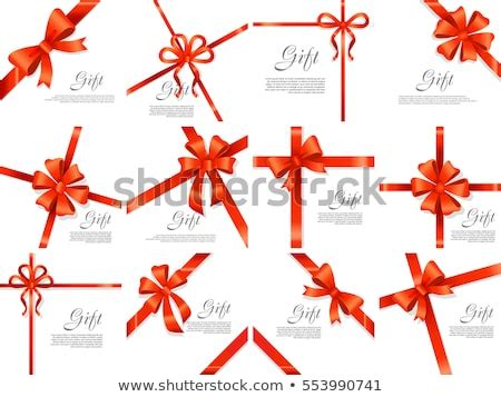 set gift card vector illustration  stock vector