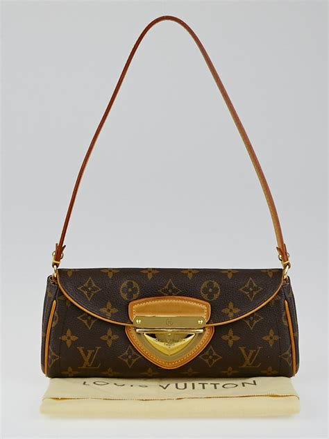 louis vuitton monogram canvas beverly clutch bag yoogis