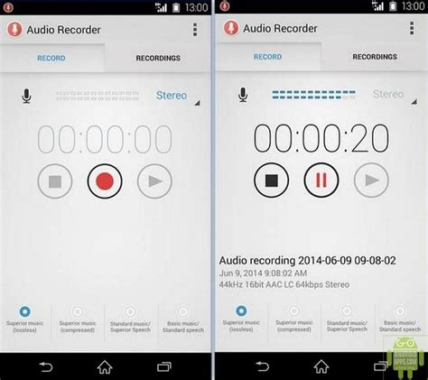 android voice recorder app the best android voice recorder app 2015