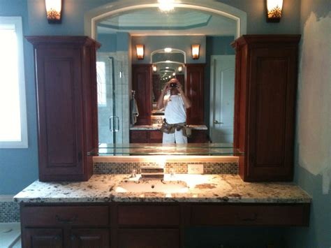 vanity tower  bath vanities built  custom