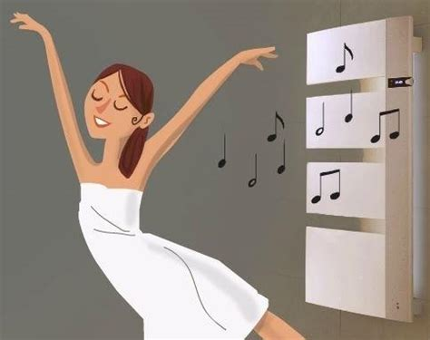 mettez de la musique dans votre salle de bains