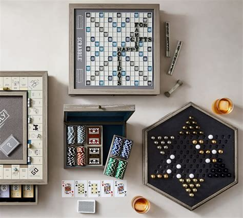 A couple of people who love board games and want to help you find a great game to share with family and friends!. Poker Set   Wooden board games, Cool coffee tables, Coffee table games