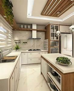 Modern, Kitchens, 2020, Cottage, Style, Kitchen, Ideas, 35, Photos