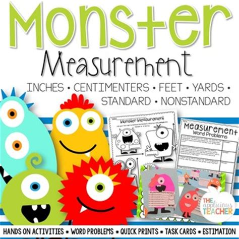 measurement activities inches feet centimeters