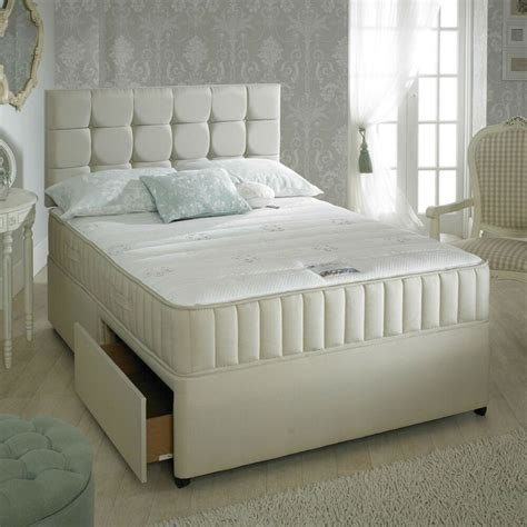 Divan Beds With Headboards by Divan Bed Set Memory Mattress Headboard 3ft 4ft