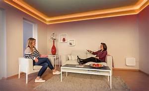 Led Lichtleiste Decke : indirekte deckenbeleuchtung ~ Markanthonyermac.com Haus und Dekorationen