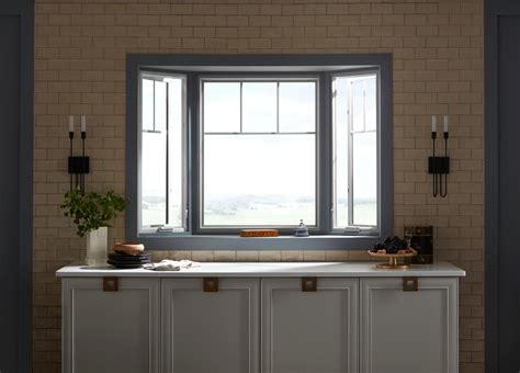 bay window brings classic design  homes architecture