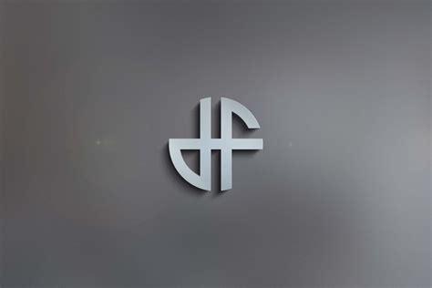 D & F Monogram Logo - GraphicsFamily