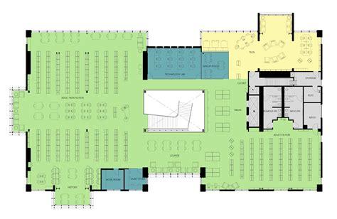 Homestyler Floor Plan Library by Gallery Of Los Gatos Library Noll Tam