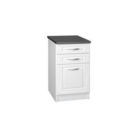 meuble bas cuisine 80 cm meuble de cuisine casserolier bas 3 tiroirs 80 cm dina en