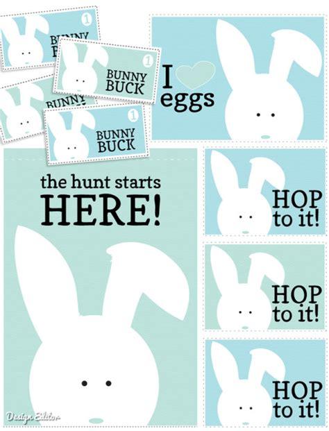easter egg hunt printables fab
