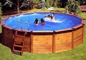 Piscine Bois Ronde : piscine hors sol le guide pratique piscine en bois ronde nature pool ~ Farleysfitness.com Idées de Décoration