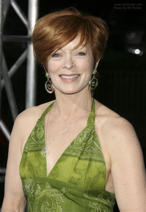 frances fisher hairstyle short haircut  busy ladies