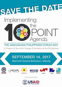 The Arangkada Philippines Forum 2017 The Arangkada