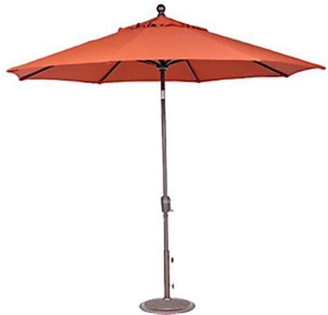 sports 9 push tilt market umbrella burnt orange