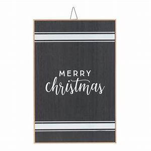 Holiday, Time, Merry, Christmas, Hanging, Sign, Decoration, 18, U0026quot, X, 12, U0026quot, -, Walmart, Com