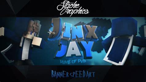minecraft banner speed art jinxjay photoshop cinema