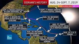 Hurricane Dorian Ravaged the Bahamas and Struck the ...