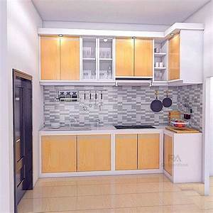 kitchen set minimalis terbaru dapur minimalis idaman With design interior kitchen set minimalis