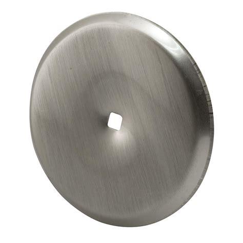 Cabinet Hardware Backplates Home Depot by Prime Line 2 13 16 In Satin Nickel Cabinet Knob Back