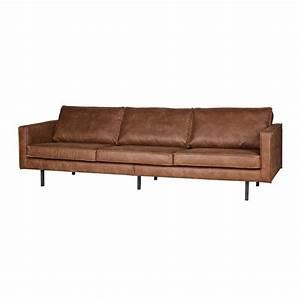 Couch 3 Sitzer Leder : sofa rodeo 3 sitzer aus leder cognacbraun 78x274x87cm ~ Bigdaddyawards.com Haus und Dekorationen