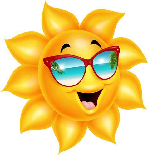 Cartoon sun smiling face vectors 04 free download