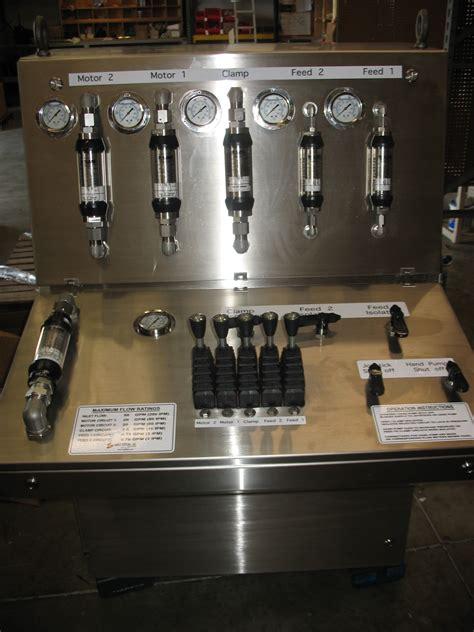 hydraulic app stainless steel  shore hydraulic valve