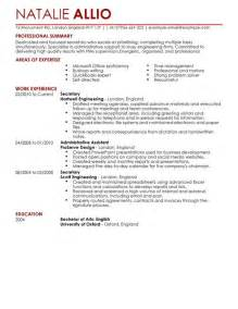 functional executive format resume builder secretary admin assistant cv exle for admin livecareer