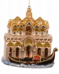 Gondola Boat in Venice Italy - Personalized Ornament